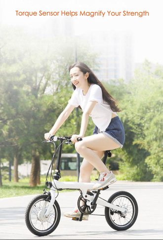Электровелосипед Xiaomi QiCycle EF1