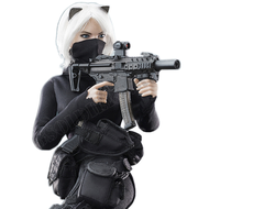 "КОЛЛЕКЦИОННАЯ ФИГУРКА 1/6 scale Female Assassin Series First Bomb — ""Catch Me"" (VCF2033A) - VERYCOOL"