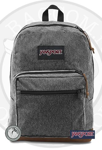 Jansport Right Pack Digital Edition Black White Herringbone