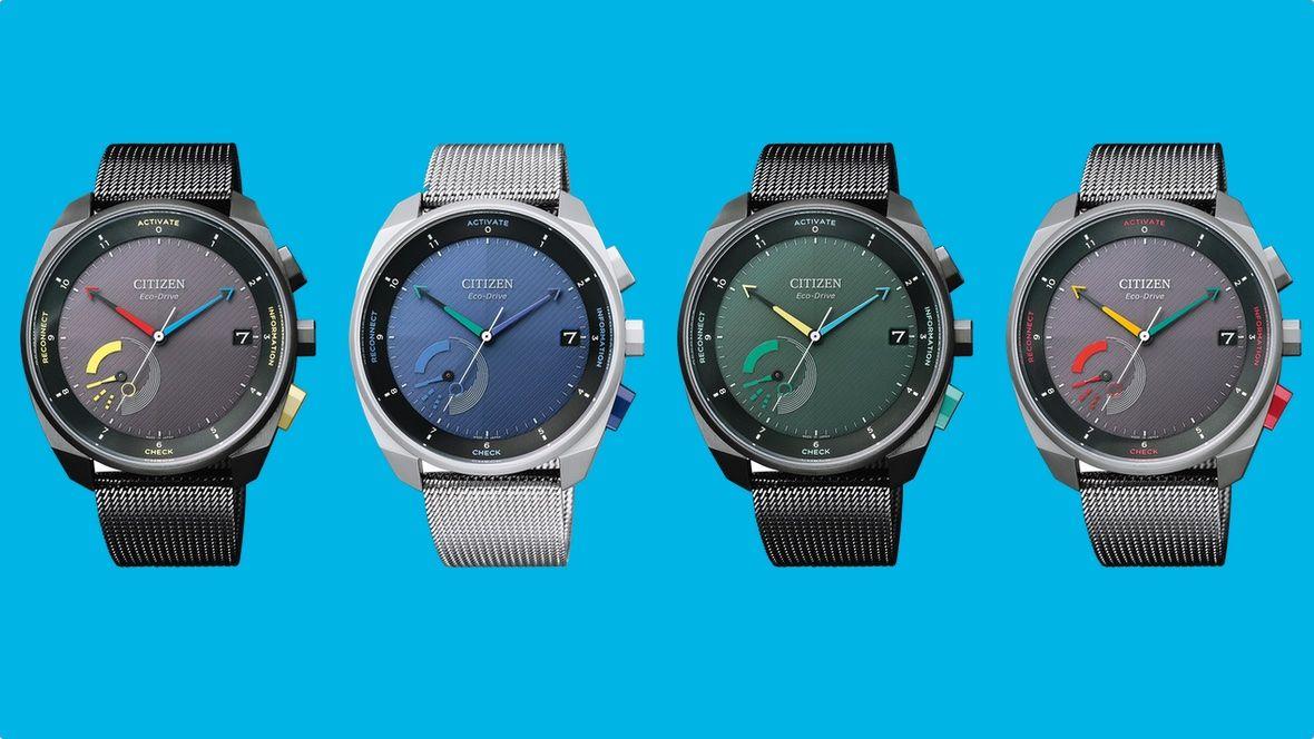 Гибридные смарт-часы Citizen Eco-Drive Riiiver