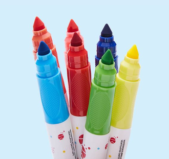 Набор акварельных маркеров Xiaomi Bravokids 24-color childlike rhyme watercolor pen