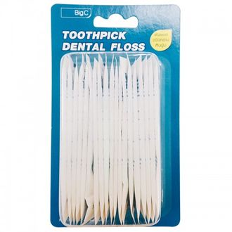 Зубная нить TOOTHPICK-DENTAL FLOSS 1уп.(20 шт)