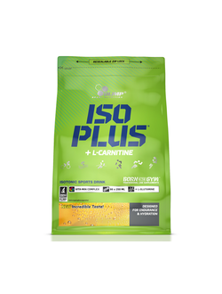 Изотоник Olimp iso plus + l-carnitine 1.5kg