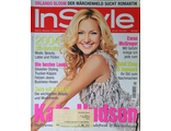 Instyle Germany Magazine January 2004 Kate Hudson,Orlando Bloom Женские иностранные журналы,Intpress