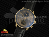 Portuguese Chrono IW371482 ZF 11 Best Edition on Black Leather Strap