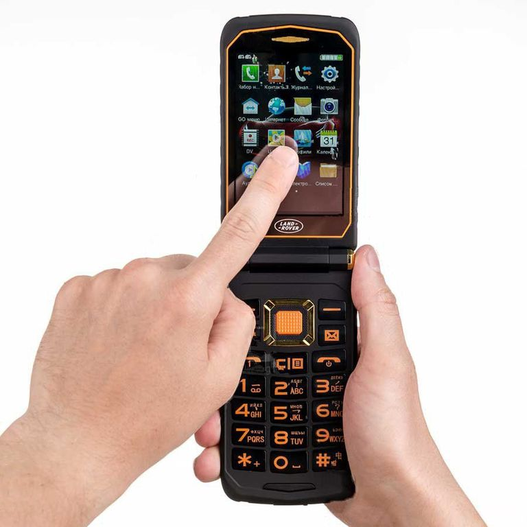 491eaa510248 Купить защищенный кнопочный телефон Land Rover X9 Flip (Ленд Ровер ...