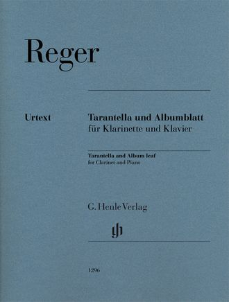 Max Reger Tarantella and Album leaf