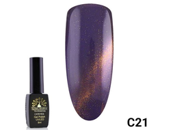 Гель-лак Global Fashion cat eye C21