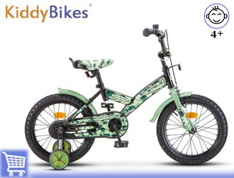 Stels Fortune 16 (Хаки) Kiddy-bikes