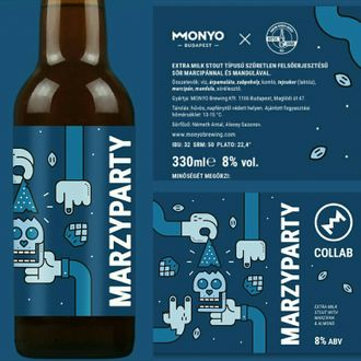 Marzyparty, Bottle Share 0,33 л.