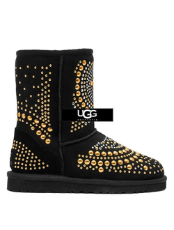 UGG JIMMY CHOO MANDAH BLACK