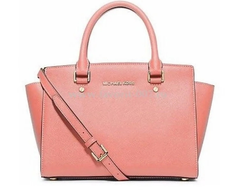 Сумка Michael Kors Selma Large (Розовая)