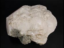 Манганокальцит, крупный кристалл с розовой флуоресценцией в УФ, Россия, Дальнегорск (195*160*80 мм, 2774 г) №19893