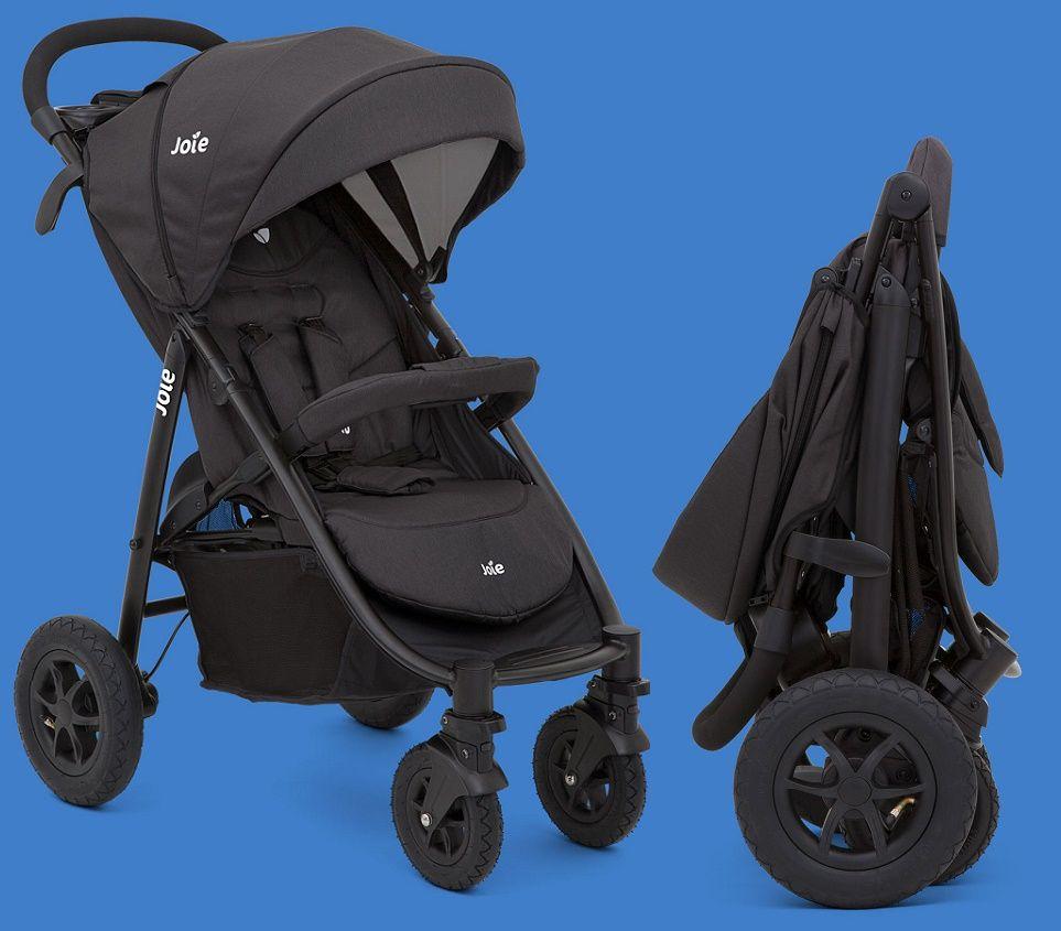 Joie Litetrax 4 Air практичная, комфортная, функциональная прогулочная коляска