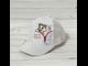 Бейсболка для девочки (Артикул 42921) цвет белый