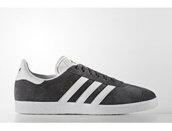 Adidas Gazelle Dark Grey темно-серые