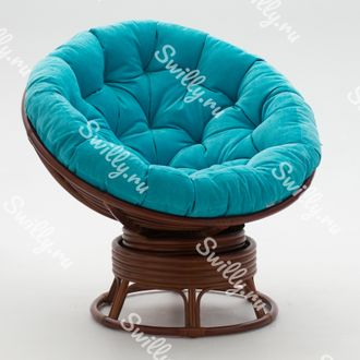 Кресло Swilly Swivel Papasan 5 орех
