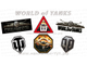 Наклейки WORLD of TANKS (от 50 р.) знак, логотип на авто Ворлд Оф Танкс, WoT - для танкистов в душе!