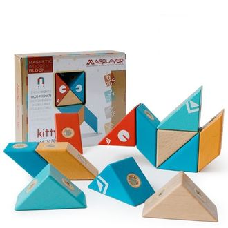 Magnetic wooden block - 6