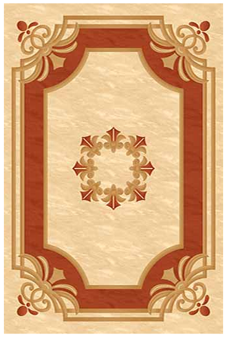 KAMEA carving 5333 CREAM-TERRA