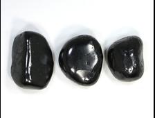 Шунгит, галтовка в ассортименте (30-38 мм, 19-21 г) №22847