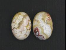 Кабошон Агат узорчатый, в ассортименте, овал, Бразилия (14*10*5 мм, 1 г) №17452