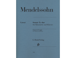 Mendelssohn Clarinet Sonata E flat major