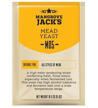 "Дрожжи для медовухи ""Mangrove Jacks"" Mead M05, 10 гр"