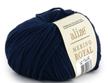 Alize Merino Royal 58 темно-синий