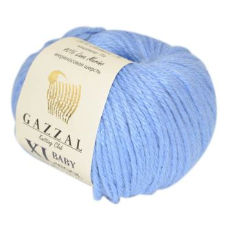 Gazzal Baby Wool XL 813 голубой
