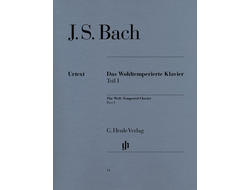 Johann Sebastian Bach The Well-Tempered Clavier Part I BWV 846-869