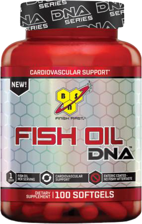 Fish Oil DNA BSN 100 капсул