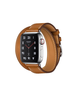 Купить Apple Watch Hermès S4 40мм with fauve barenia leather double tour в iStore-Moscow