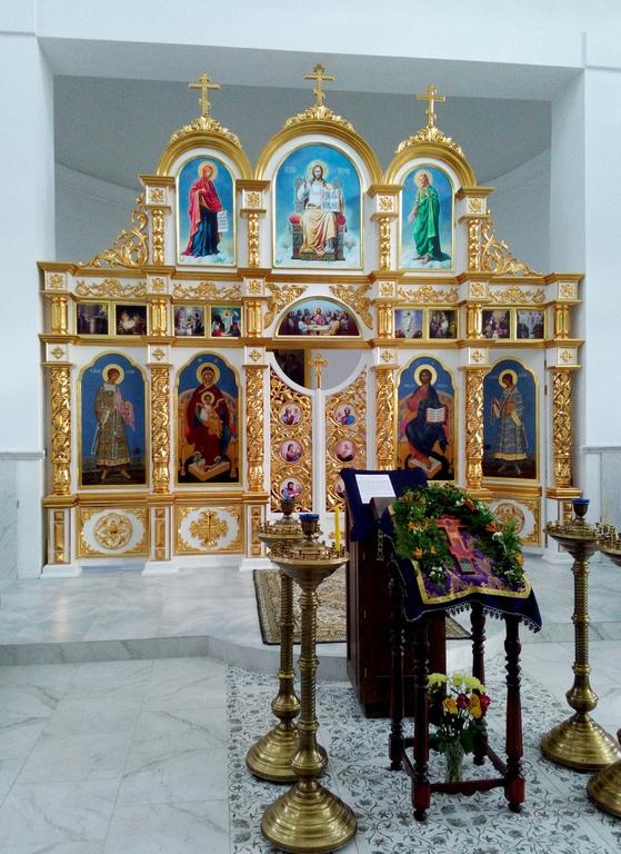 Иконостасы для сельских храмов Белоруссии