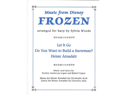Anderson-Lopez, Kristen Music from Frozen for harp