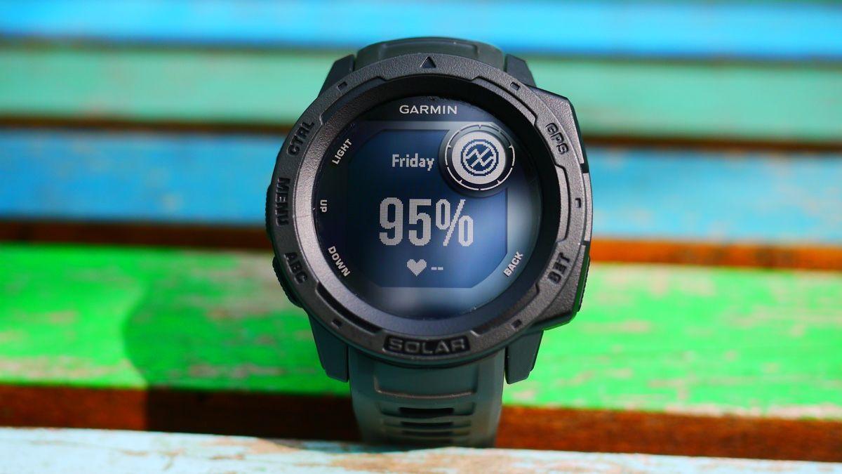 Garmin Instinct Solar: отличные часы для любителей походов