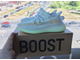 Кроссовки Adidas Yeey Boost 350 V2 Hyperspace качество Lux