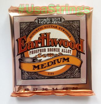 Ernie Ball 2144 13-56 Earthwood phosphor bronze