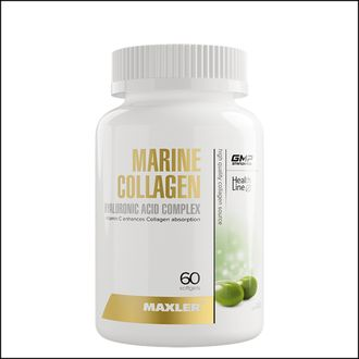 Коллаген Maxler marine Collagen complex 90 капсул