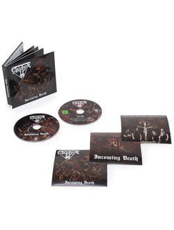 ASPHYX Incoming death MEDIABBOOK CD+DVD