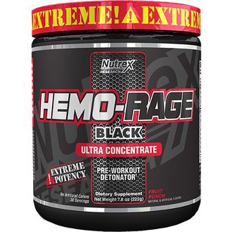 Hemo Rage Black Ultra Concentrate (Nutrex) 284 гр.