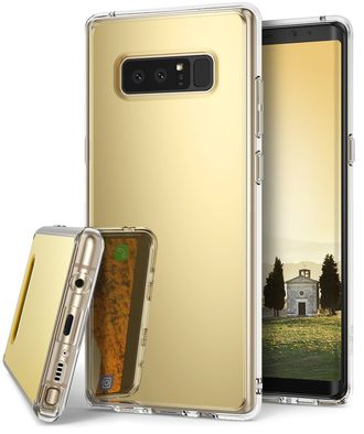 Чехол для Samsung Galaxy Note 8, Ringke серия Mirror Case, цвет золотистый Royal Gold