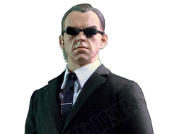 Агент Смит (Матрица, Хьюго Уивинг) - Коллекционная ФИГУРКА 1/6 scale Aciton Figure TRANSCENDER, Agent Smith - The Matrix (Tw010) - Toys Works