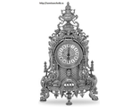Часы настольные Stilars Silver-1 (desktop clock Stilars Silver-1)