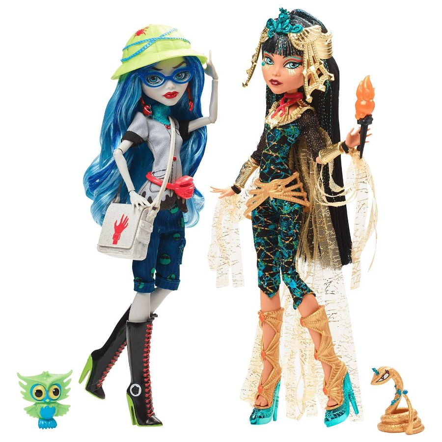Клео Де Нил и Гулия Йелпс Эксклюзив / Cleo De Nile & Ghoulia Yelps - Mattel Exclusive