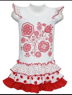 Платье для девочки (Артикул 5124-453)