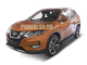 Пороги на Nissan X-trail T32 (2018-)  Black Start