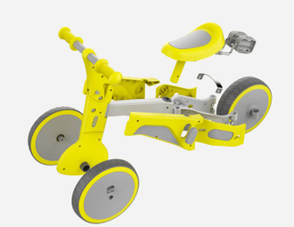 Детский велосипед Xiaomi Xiao Wei Transformation Buggy Yellow TF1 Tranformer синий