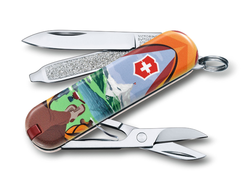 "Нож-брелок VICTORINOX Classic ""Call of Nature"", 58 мм, 7 функций"