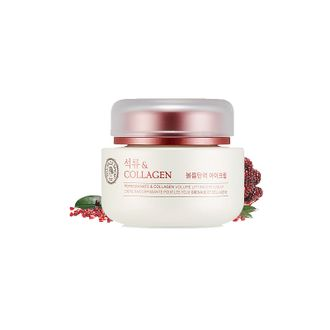 Крем для глаз с экстрактом граната и коллагеном  Pomegranate and Collagen Volume Lifting Eye Cream 50мл